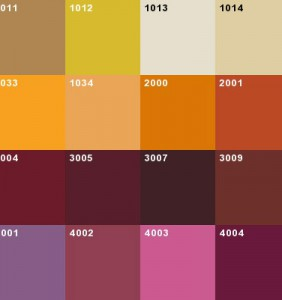 RAL-Color-Chart4
