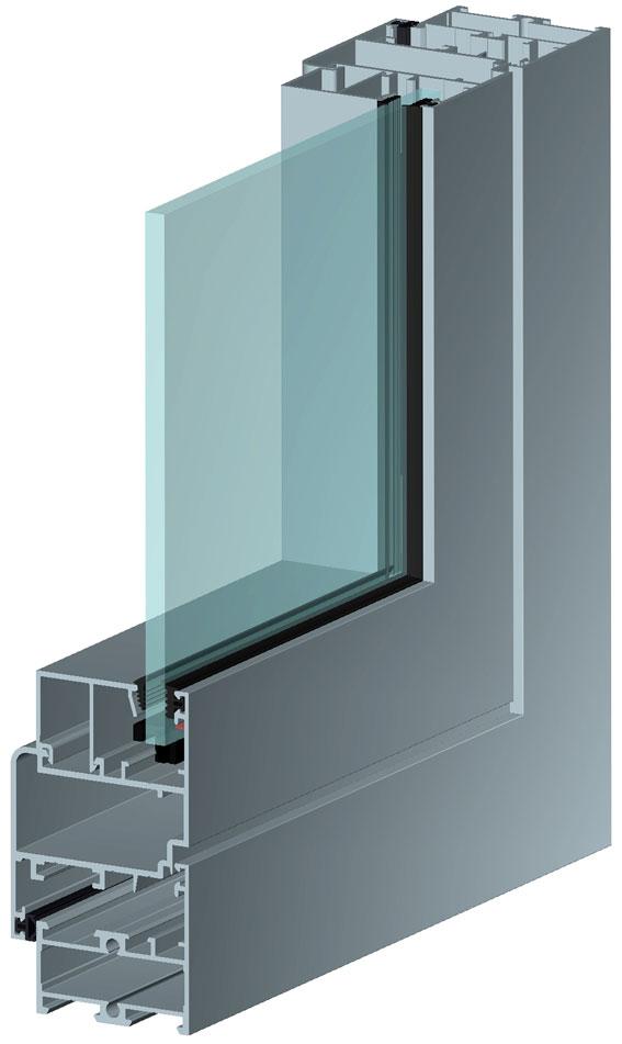 Alutech С48 холодные окна и двери