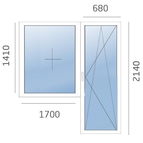 балконный блок в 504 серию