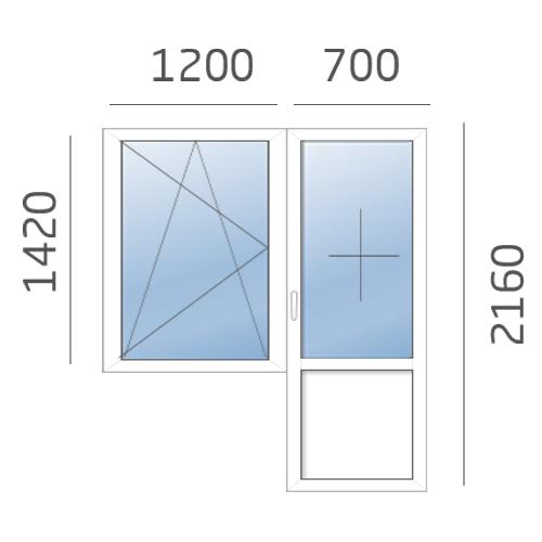 балконный блок в 137 серию