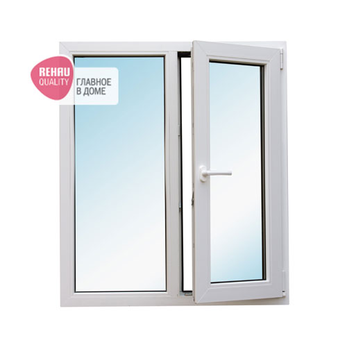 окно REHAU Blitz 1160x1000