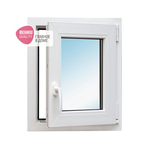 окно REHAU Blitz 600X500 мм