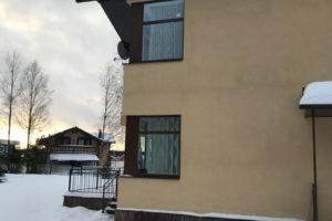 Остекление дома в деревне 'Дранишники'