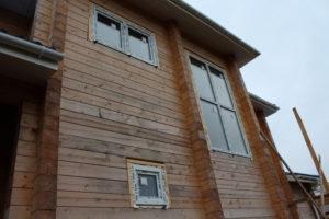 Остекление коттеджа в поселке 'Понтонный'