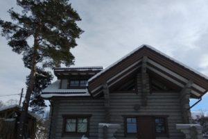 Окна для загородного дома в Васкелово
