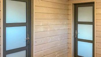 Алюминиевые двери ALUTECH ALT C48
