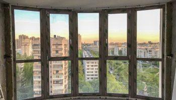 Фасадное остекление REHAU Grazio в СПб